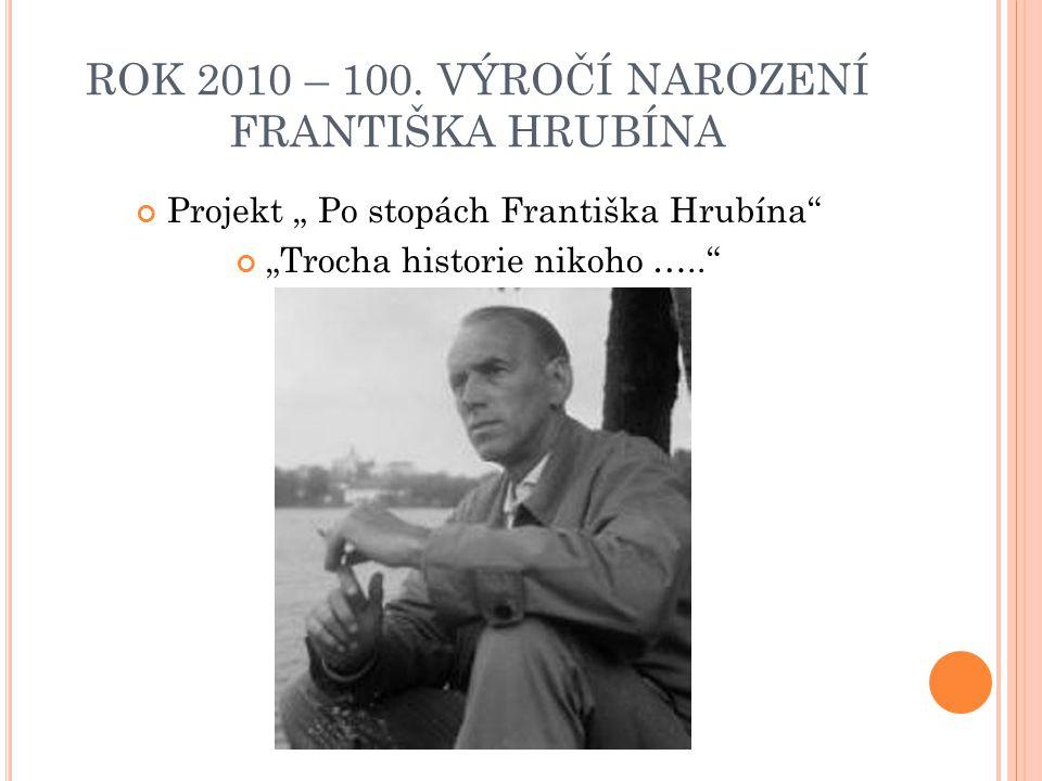 J AK PROJEKT VZNIKL .Spolupráce s knihovnou v Suchdole nad Lužnicí Žáci 6.