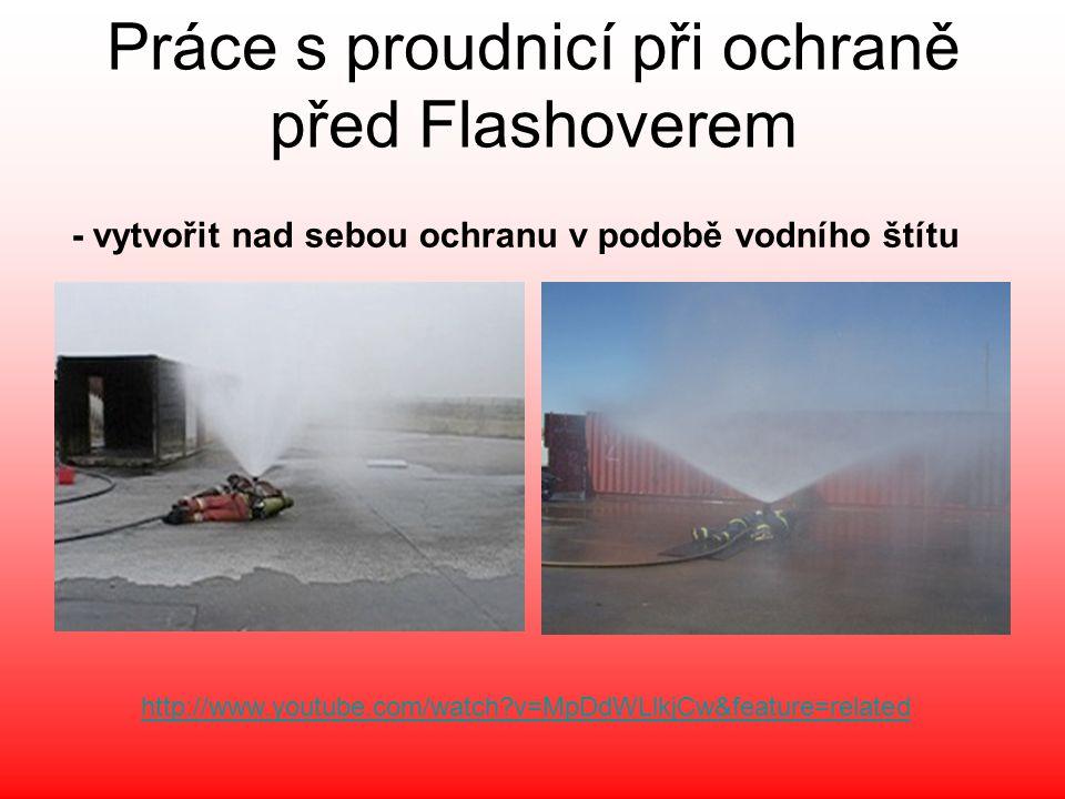 http://www.youtube.com/watch?v=MpDdWLlkjCw&feature=related Práce s proudnicí při ochraně před Flashoverem - vytvořit nad sebou ochranu v podobě vodníh
