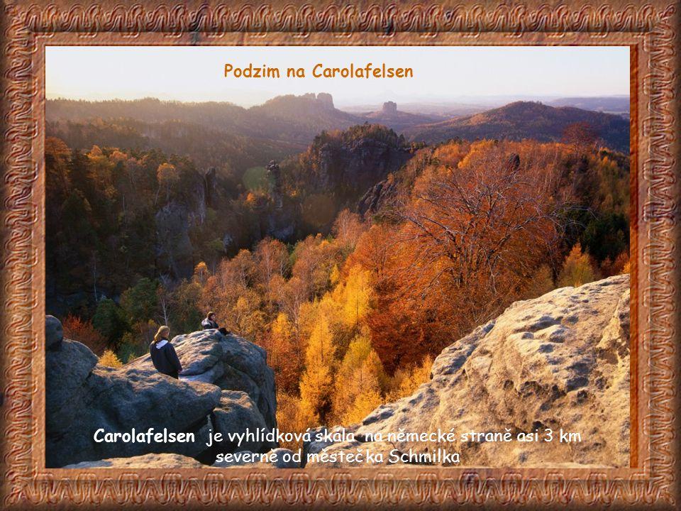 Na německé straně je údolí Großer Zschand, jedna z přírodovědecky nejcennějších roklí Saského Švýcarska