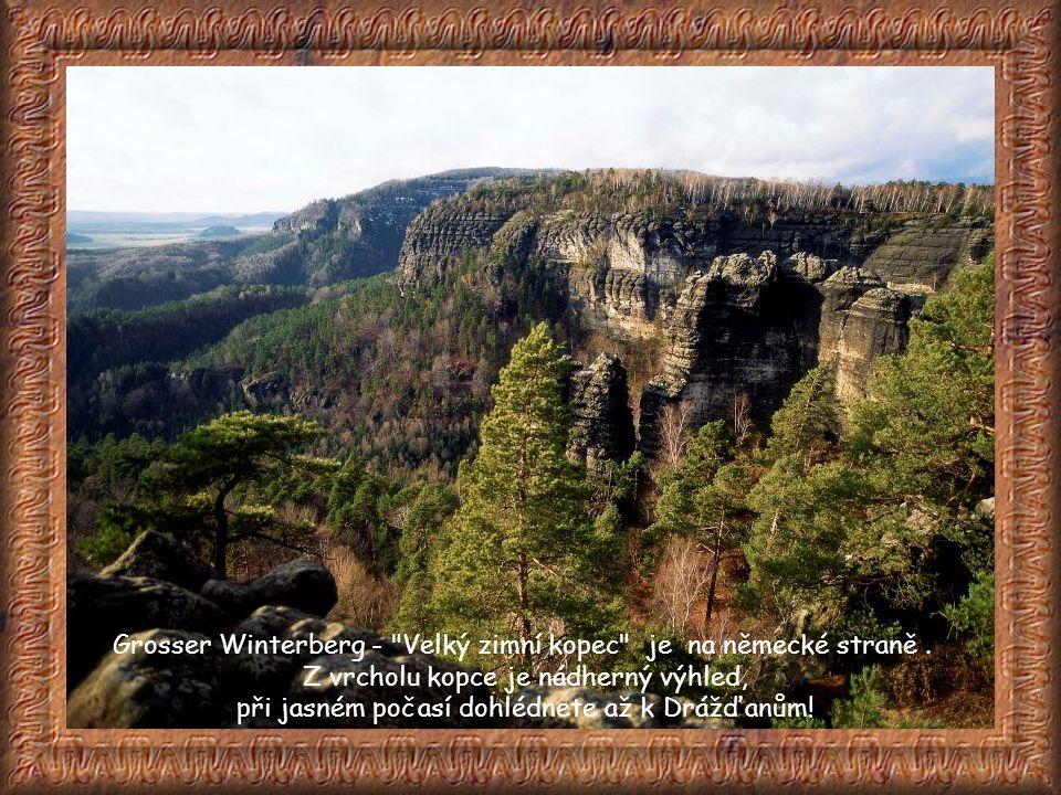 Pravčická brána je největší přirozená skalní brána na našem kontinentu. Je považována za nejkrásnější přírodní útvar Českého Švýcarska a tvoří symbol