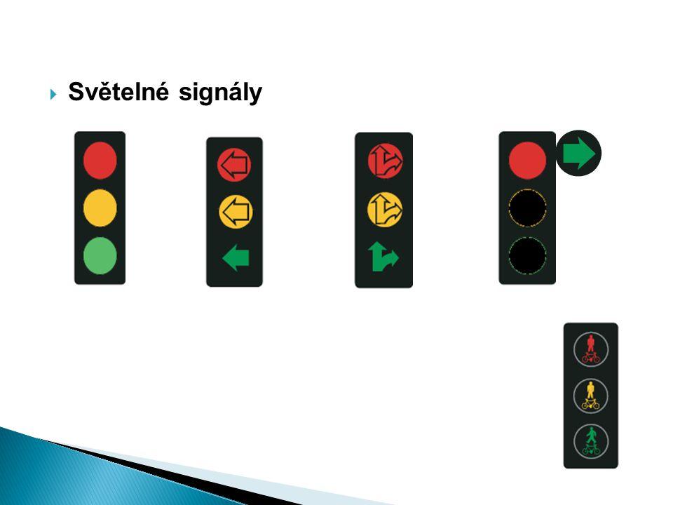  Světelné signály