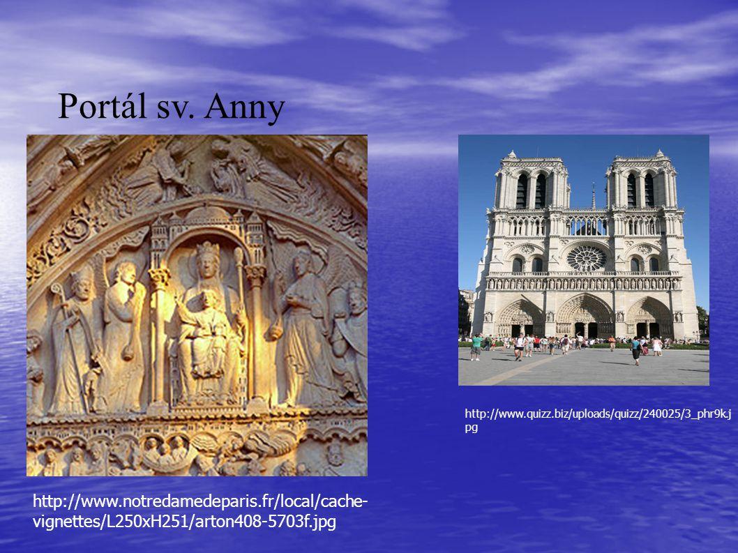Portál sv. Anny http://www.notredamedeparis.fr/local/cache- vignettes/L250xH251/arton408-5703f.jpg http://www.quizz.biz/uploads/quizz/240025/3_phr9k.j