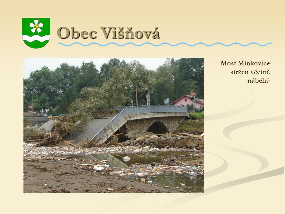 Obec Višňová Obec Višňová Most Minkovice stržen včetně náběhů
