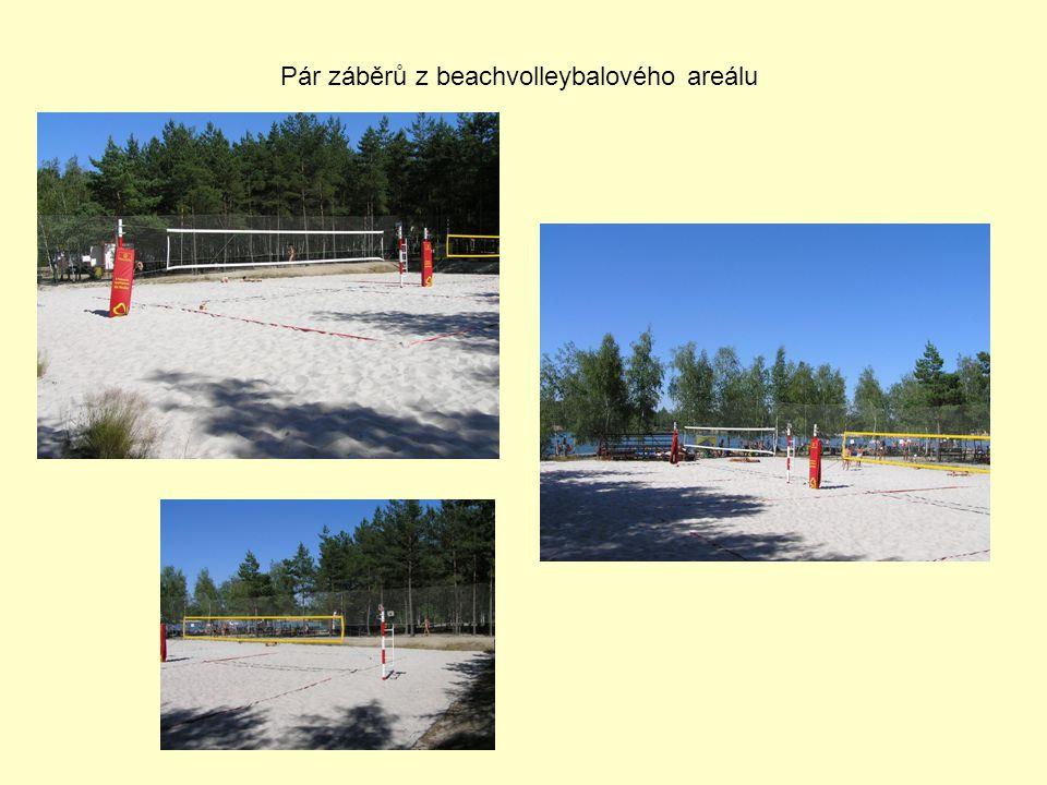 Pár záběrů z beachvolleybalového areálu