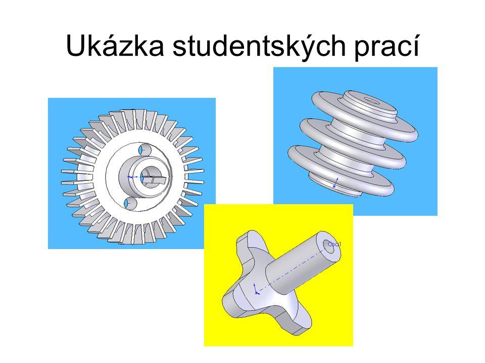 Ukázka studentských prací