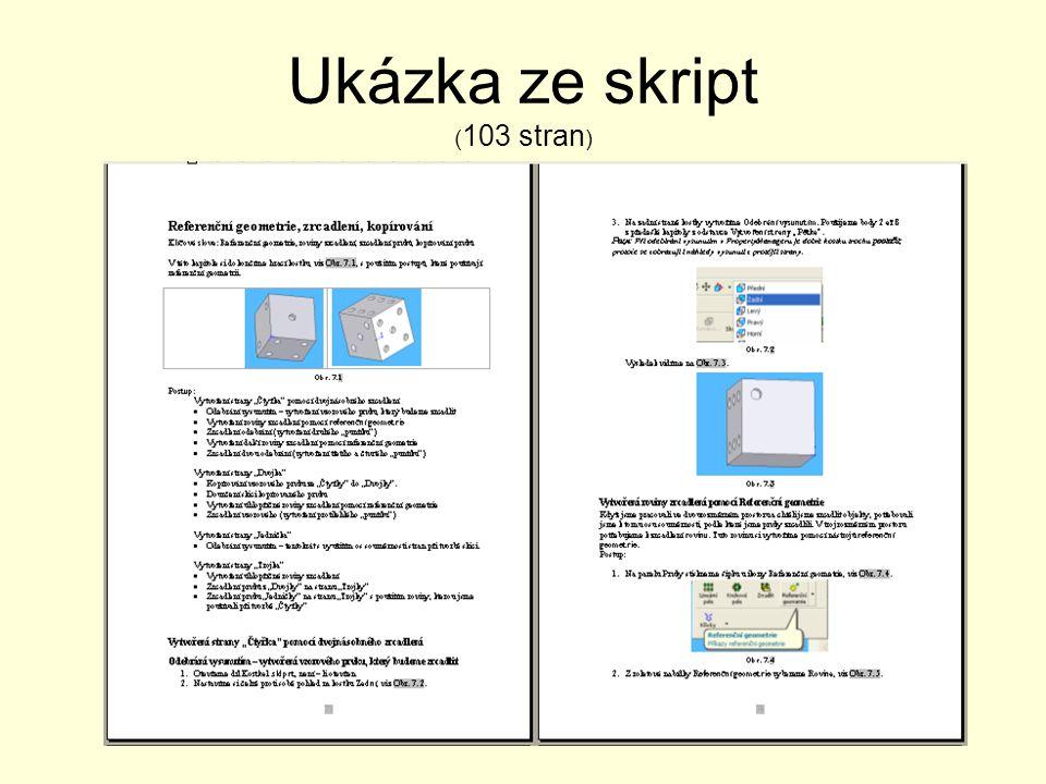 Ukázka ze skript ( 103 stran )