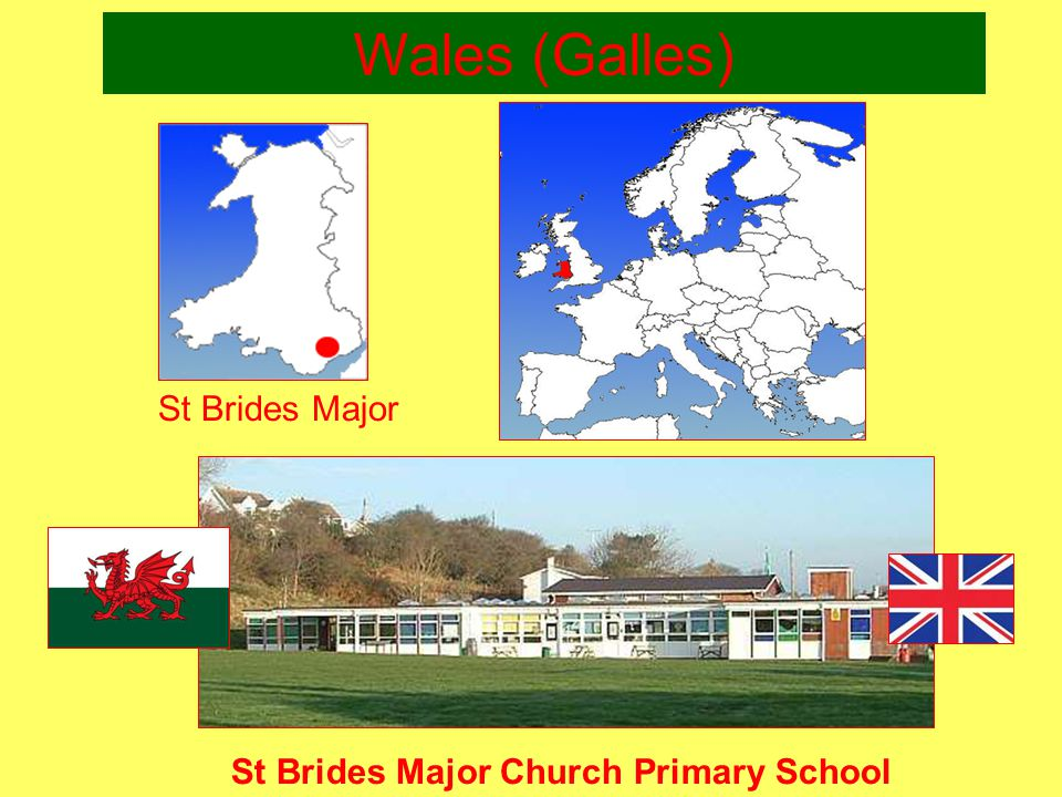 Wales (Galles)‏ St Brides Major Church Primary School St Brides Major