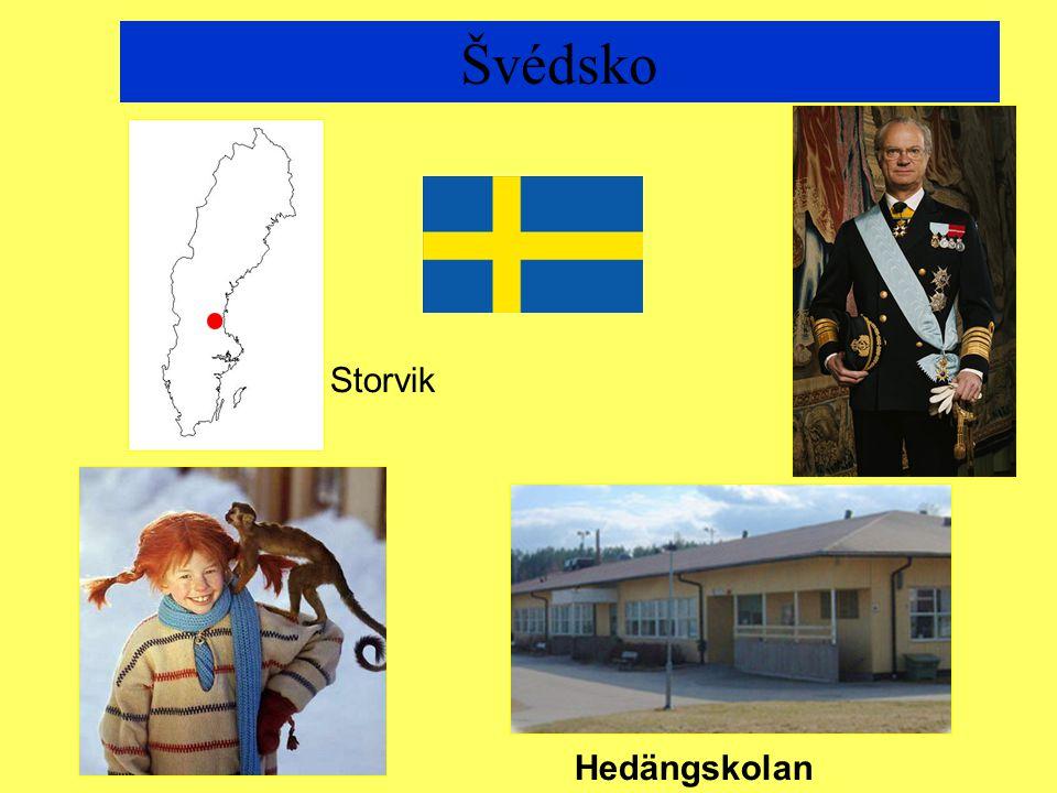 Švédsko Hedängskolan Storvik