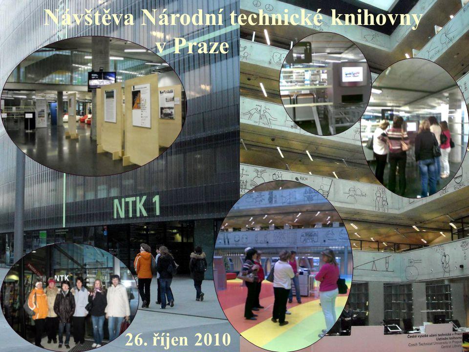 Návštěva Národní technické knihovny v Praze 26. říjen 2010