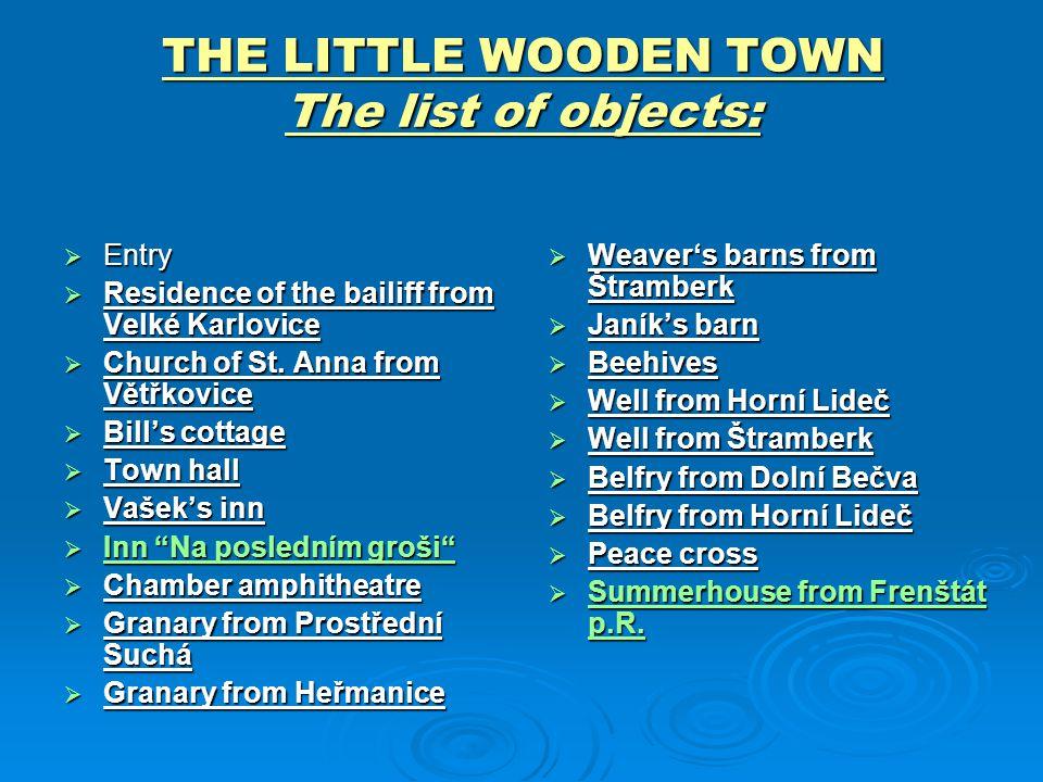  Hamr z Ostravice Hamr postavený v Mlýnské dolině je rekonstrukcí hamru z Ostravice z první poloviny 19.