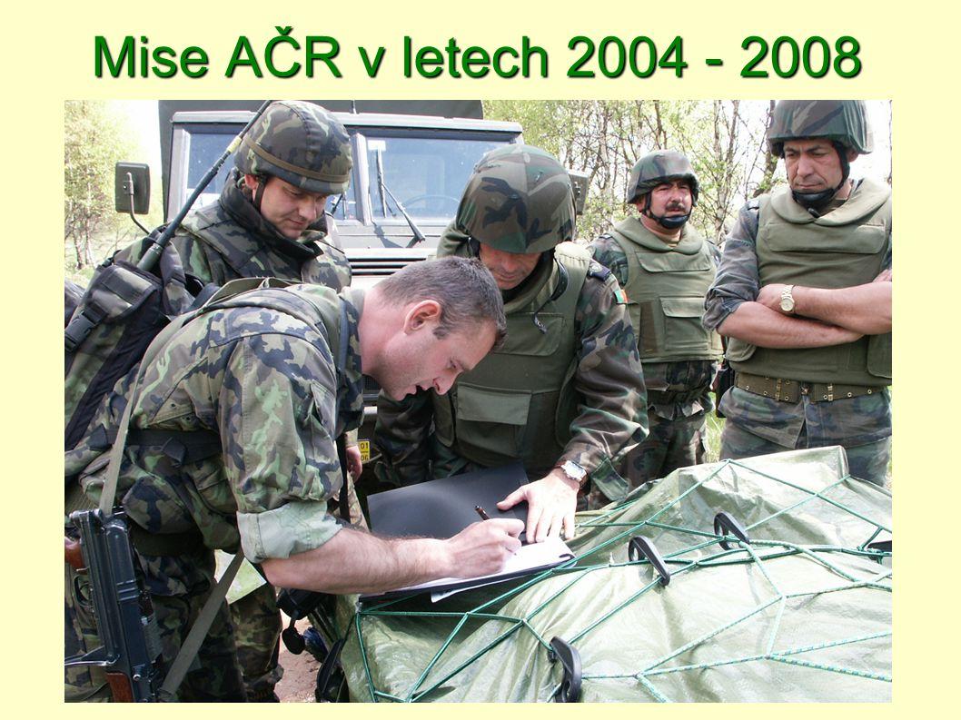 2004  Kosovo - KFOR II - operace Joint Guardian - 4.