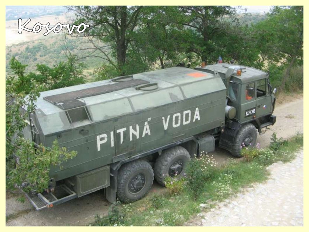 2007  Kosovo - KFOR II - mezinárodní struktura Střed - 9.