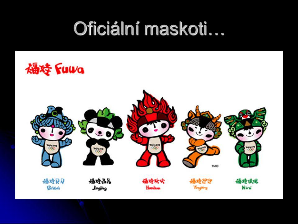 Oficiální maskoti…
