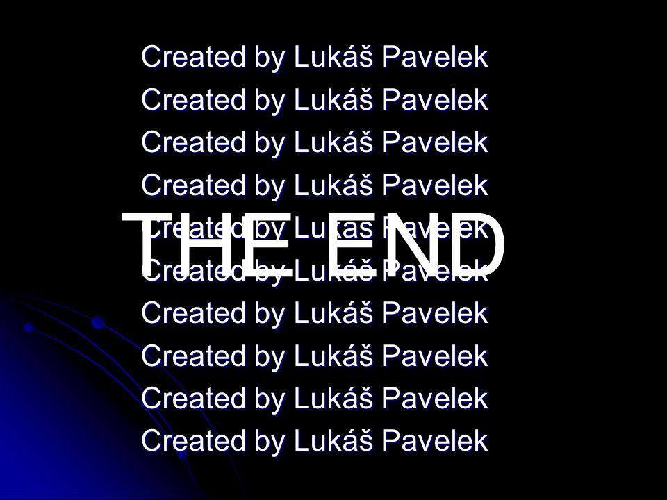 Created by Lukáš Pavelek THE END