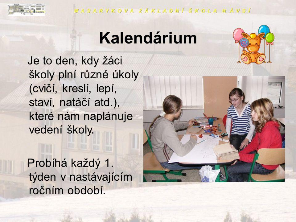 Školní vláček •Je celoroční program volnočasových aktivit, ve kterém soutěží třídy (zvlášť I. a II. stupeň) v jednotlivých disciplínách, •probíhá již