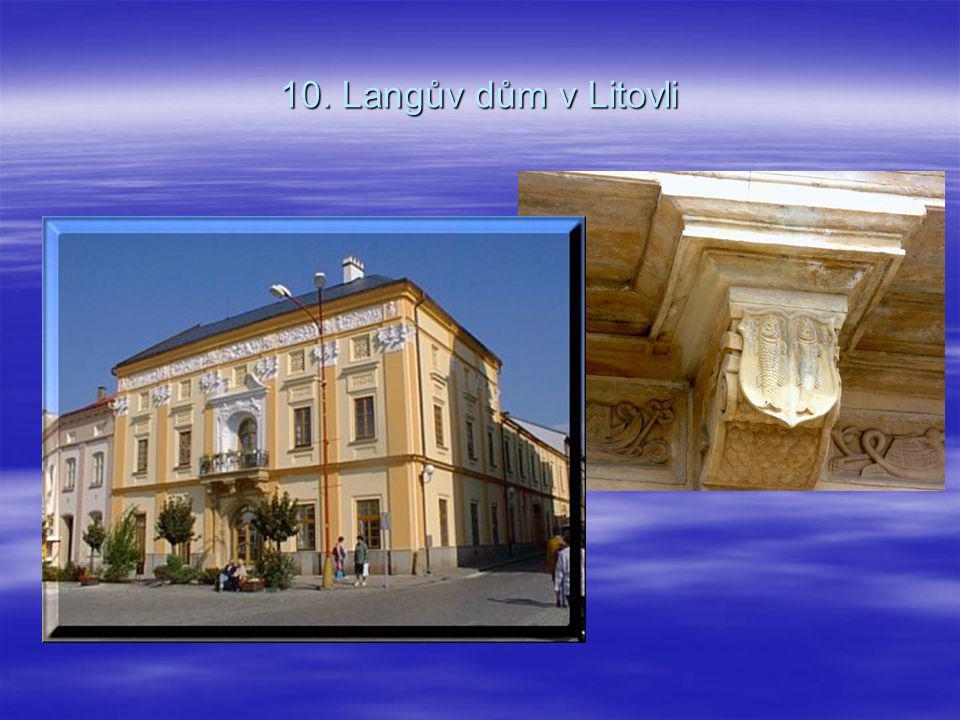 10. Langův dům v Litovli