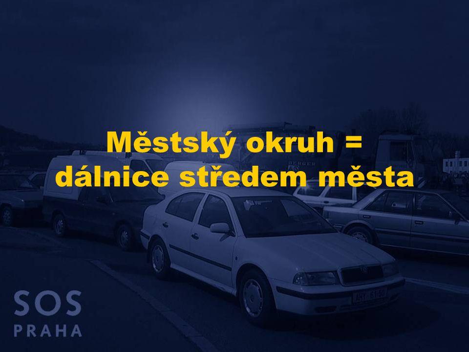 Hodnocení dopadů MO v SZ segmentu města  Městský okruh nepovede ke zklidnění dopravy na povrchu, ale má především umožnit další nárůst dopravy.