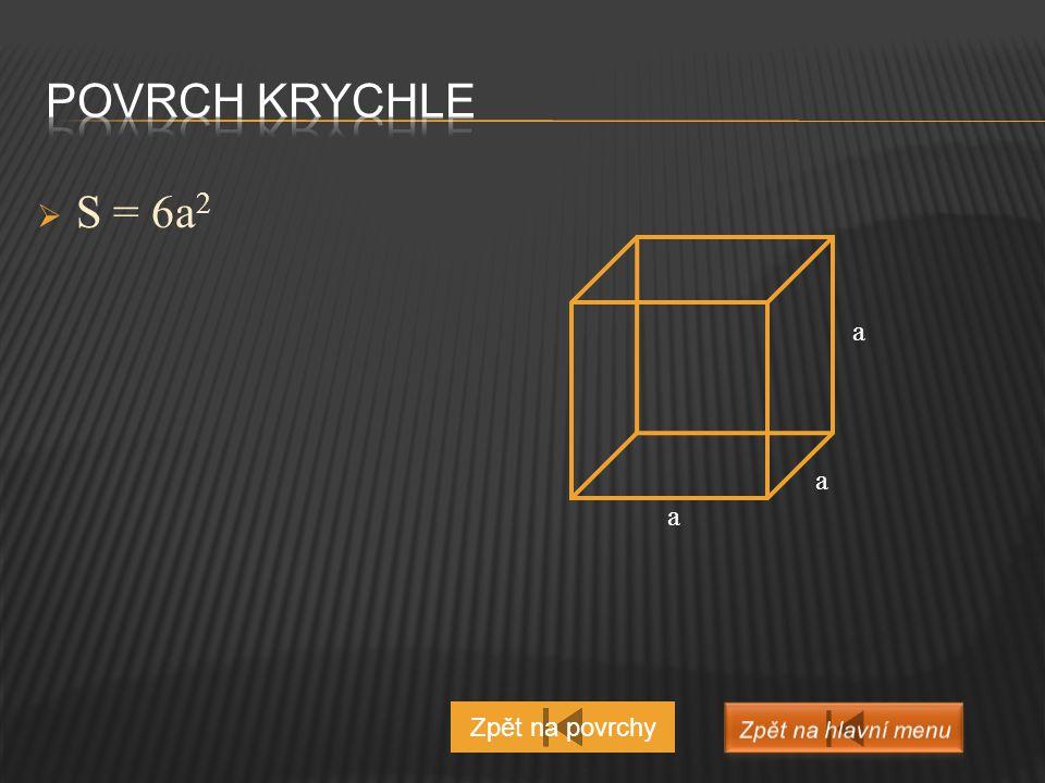 a) Pravidelný jehlan čtyřboký (podstavou je čtverec)  V = 1 / 3 a 2 ∙ v b) Jehlan čtyřboký (postavou je obdélník)  V = 1 / 3 abv Zpět na objemy a v