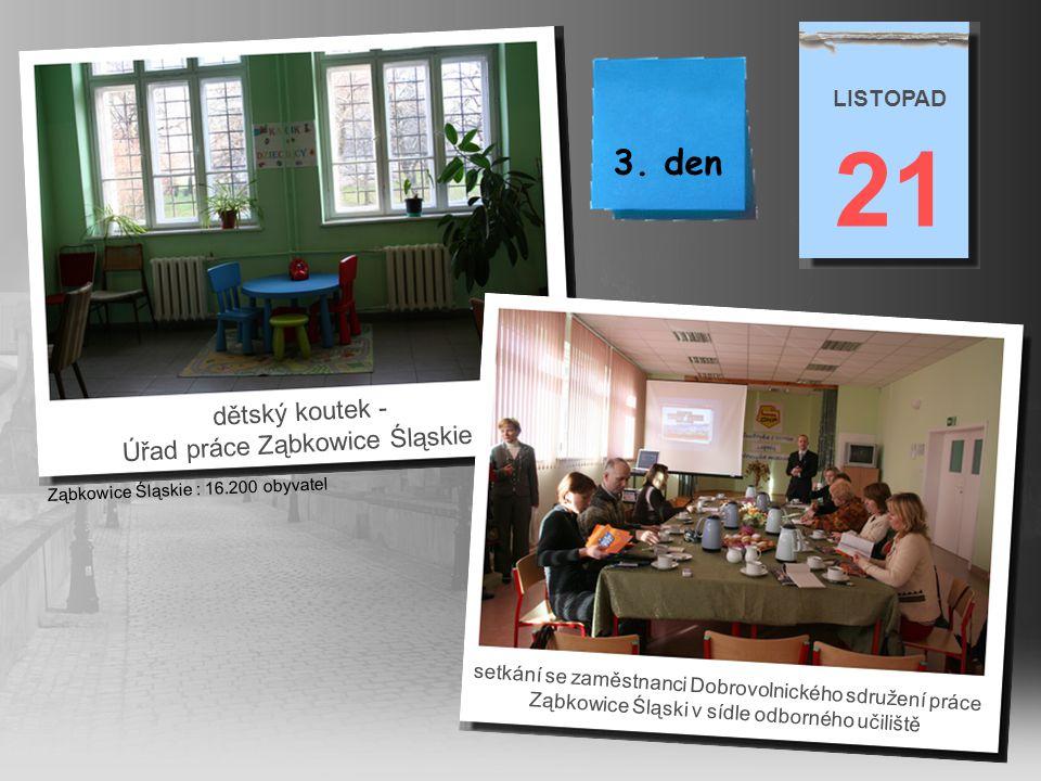 učebna učiliště pro obor kadeřník (Ewa Stadnik – ředitelka učiliště) 21 LISTOPAD učebna učiliště pro šičky a krejčové