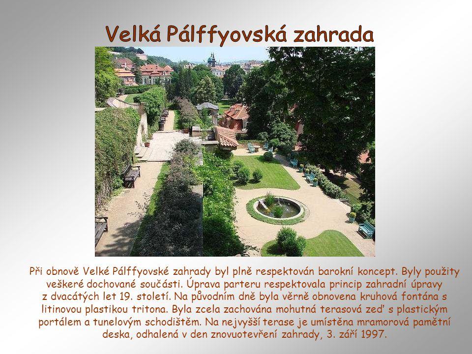 Tato zahrada se připomíná až v roce 1681, kdy koupil dům s pozemkem zahrady měšťan Šimon A. Renner, který v domě zřídil hospodu a postaral se také o z