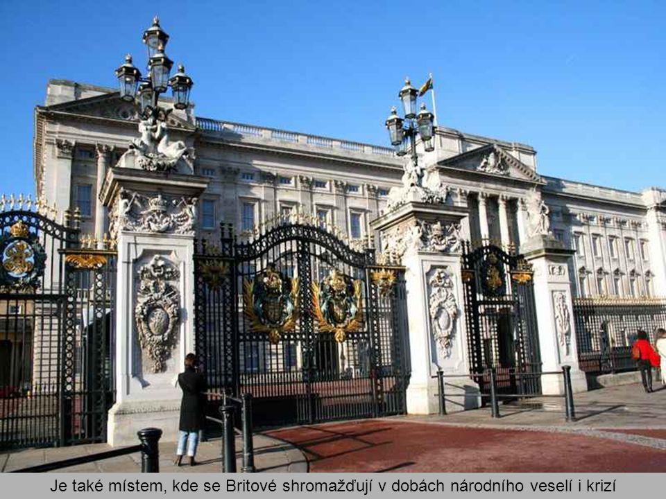 Buckinghamský palác je, mimo to, že je londýnskou rezidencí královny Alžběty II., i místem konání akcí státního významu, akcí pořádaných dvorem, míste