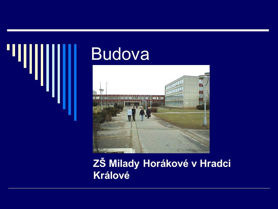 Budova ZŠ Milady Horákové v Hradci Králové
