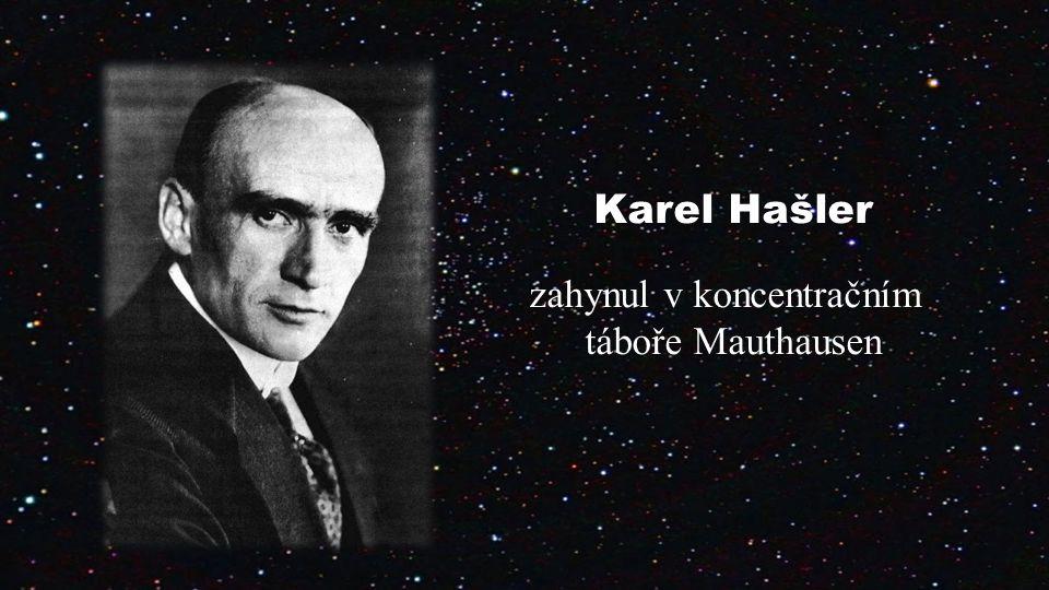 Karel Hašler zahynul v koncentračním táboře Mauthausen