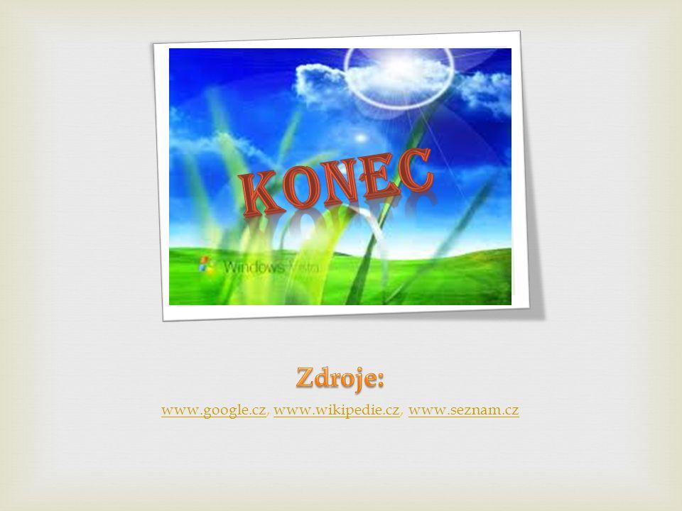 www.google.czwww.google.cz, www.wikipedie.cz, www.seznam.czwww.wikipedie.czwww.seznam.cz