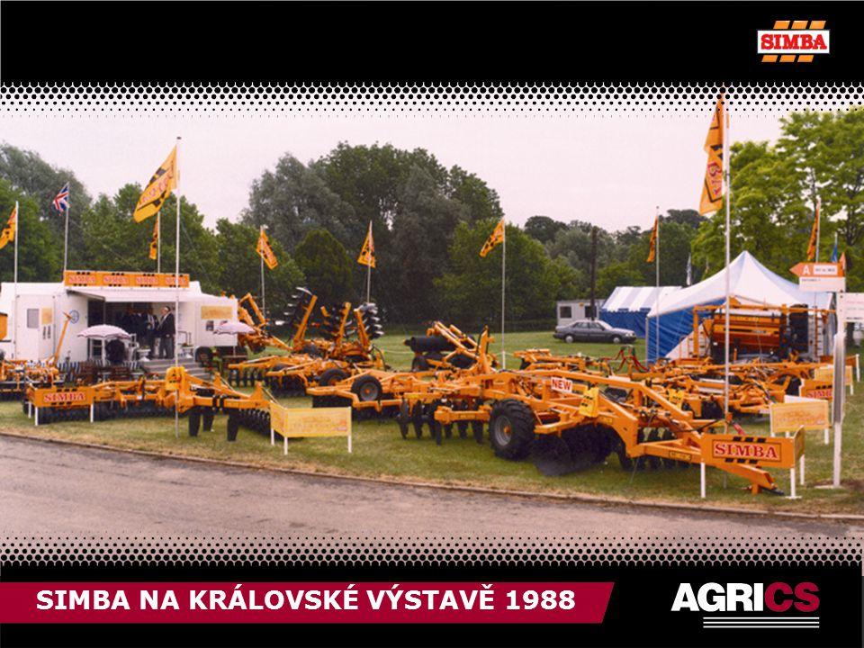 SIMBA NA KRÁLOVSKÉ VÝSTAVĚ 1988