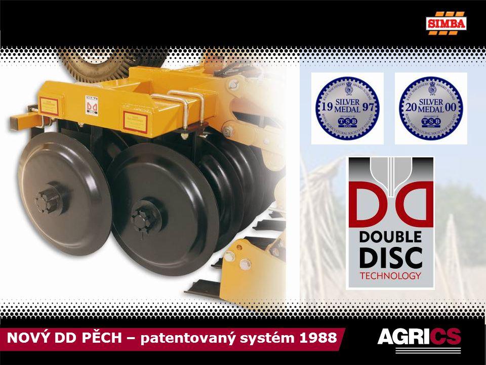 NOVÝ DD PĚCH – patentovaný systém 1988