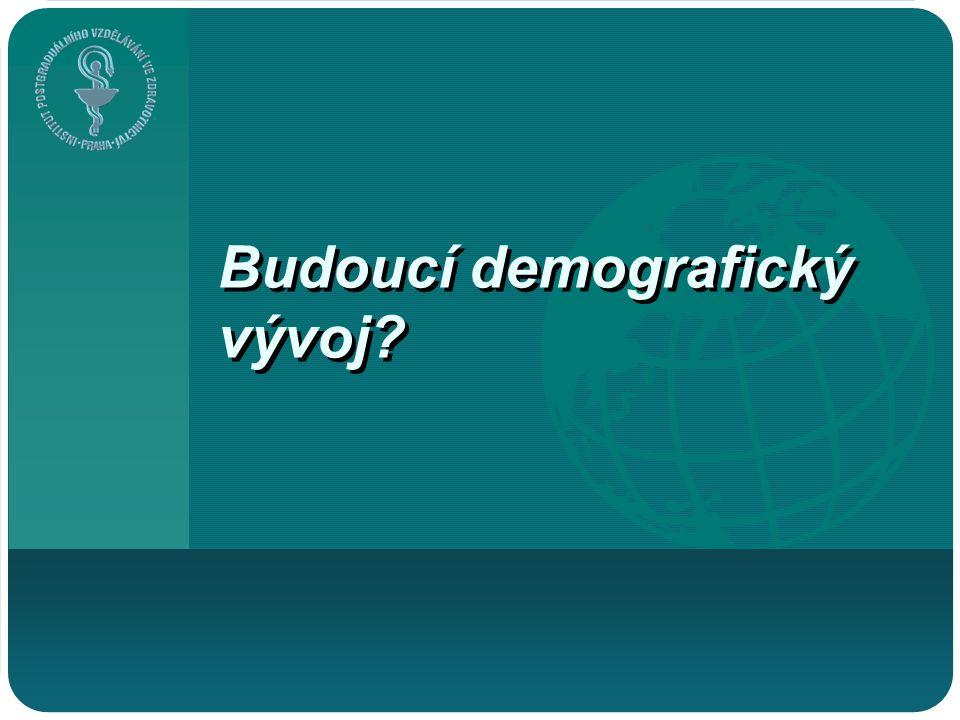 Budoucí demografický vývoj?