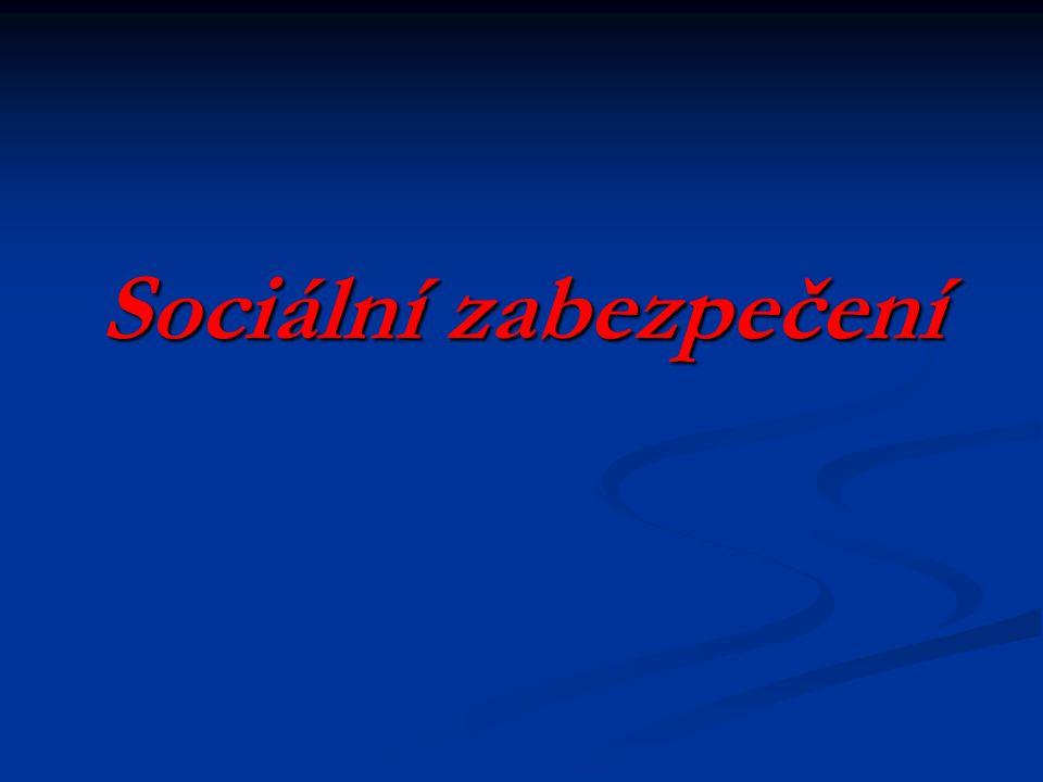 Nemocenské pojištění v ČR   je určeno pro výdělečně činné osoby, které v případech tzv.