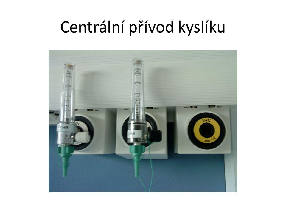 Centrální přívod kyslíku