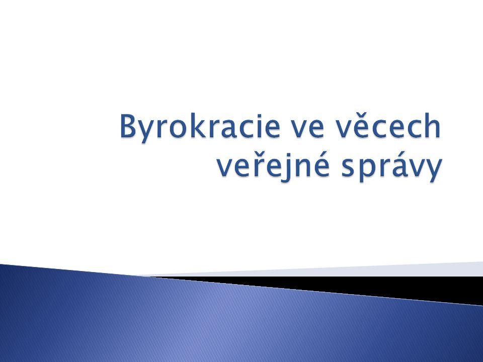  BYROKRACIE (angl.