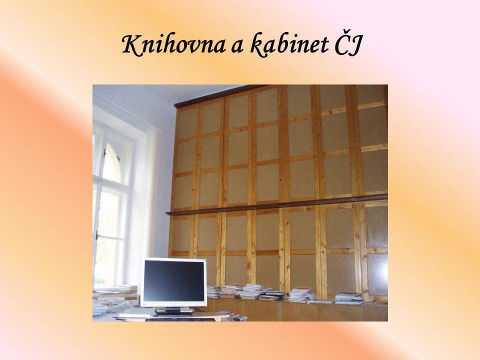 Knihovna a kabinet ČJ