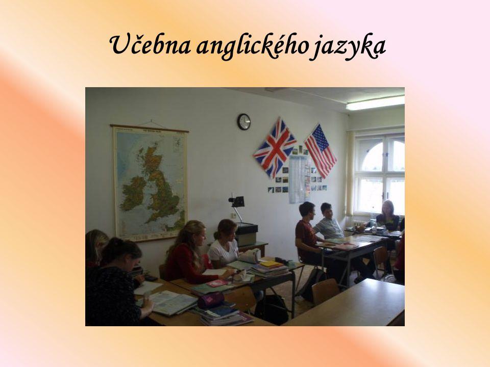 Učebna anglického jazyka