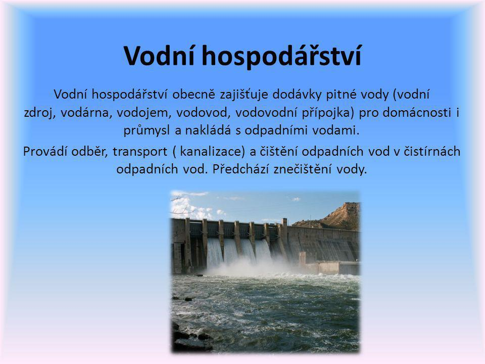 Znečištění vody Voda má hodnotu nejen ekonomickou, ale i ekologickou.