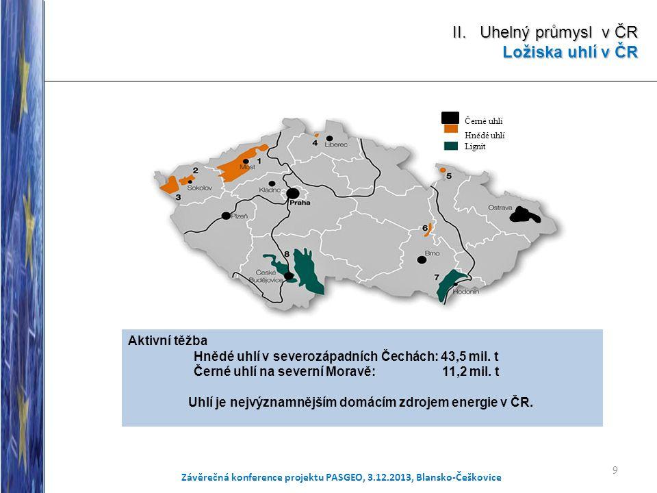 20 Závěrečná konference projektu PASGEO, 3.12.2013, Blansko-Češkovice II.