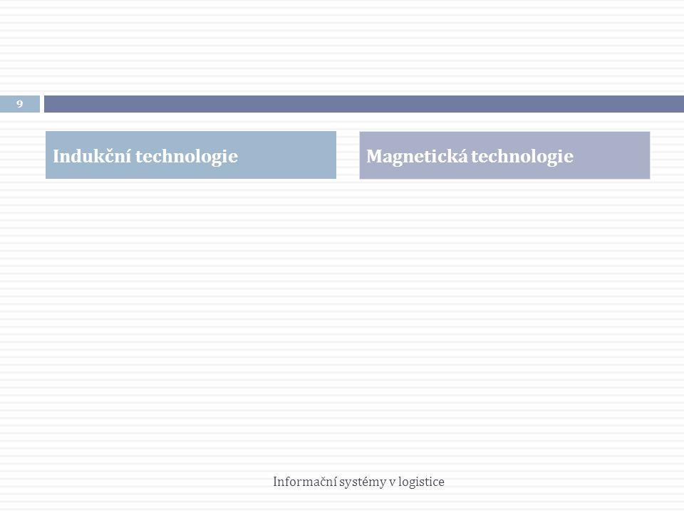 Indukční technologie Magnetická technologie 9 Informační systémy v logistice