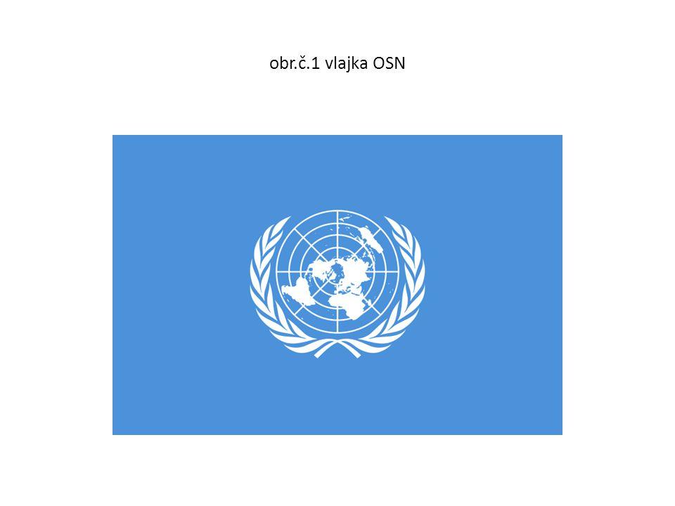 obr.č.1 vlajka OSN