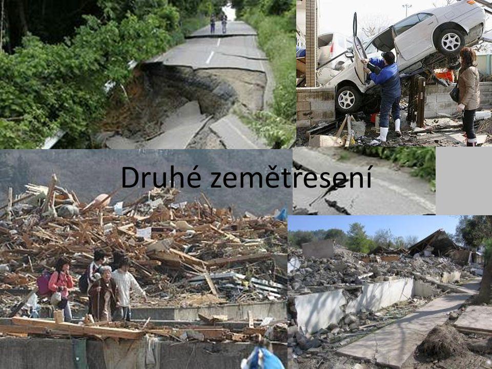 Ostrov Honšú • Další silné zemětřesení udeřilo ve středu u japonského ostrova Honšú.