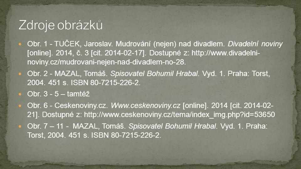  Obr. 1 - TUČEK, Jaroslav. Mudrování (nejen) nad divadlem. Divadelní noviny [online]. 2014, č. 3 [cit. 2014-02-17]. Dostupné z: http://www.divadelni-