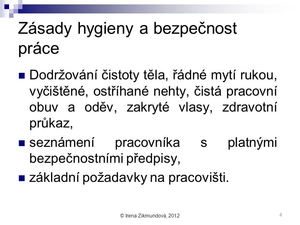 © Irena Zikmundová, 2012 Jak vypadá zdravotní průkaz.