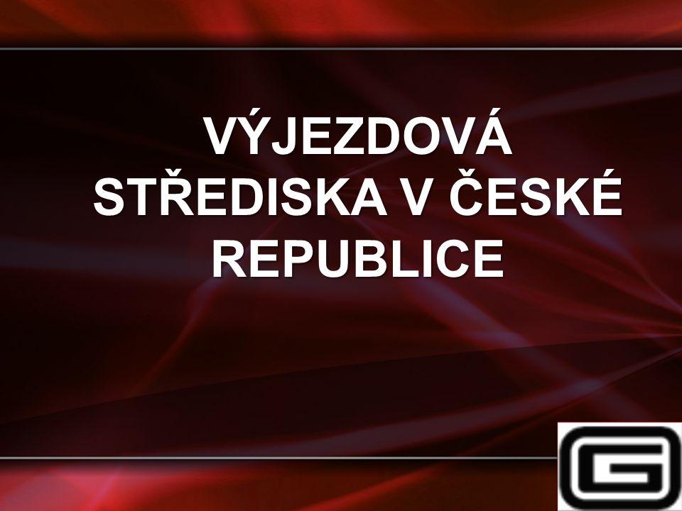 VÝJEZDOVÁ STŘEDISKA V ČESKÉ REPUBLICE
