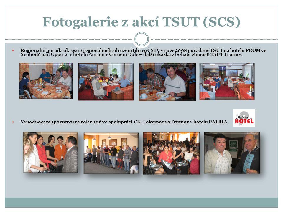 Fotogalerie z akcí TSUT (SCS)  Regionální porada okresů (regionálních sdružení) dříve ČSTV v roce 2008 pořádané TSUT na hotelu PROM ve Svobodě nad Úp