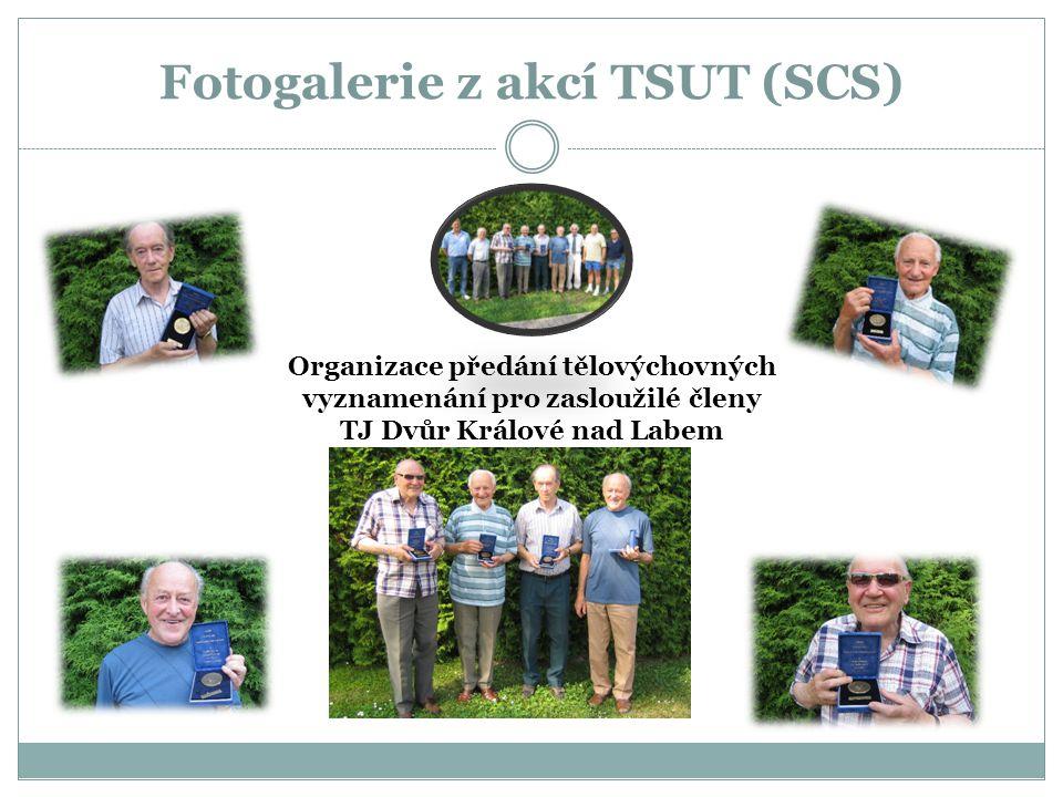 Fotogalerie z akcí TSUT (SCS) Organizace předání tělovýchovných vyznamenání pro zasloužilé členy TJ Dvůr Králové nad Labem