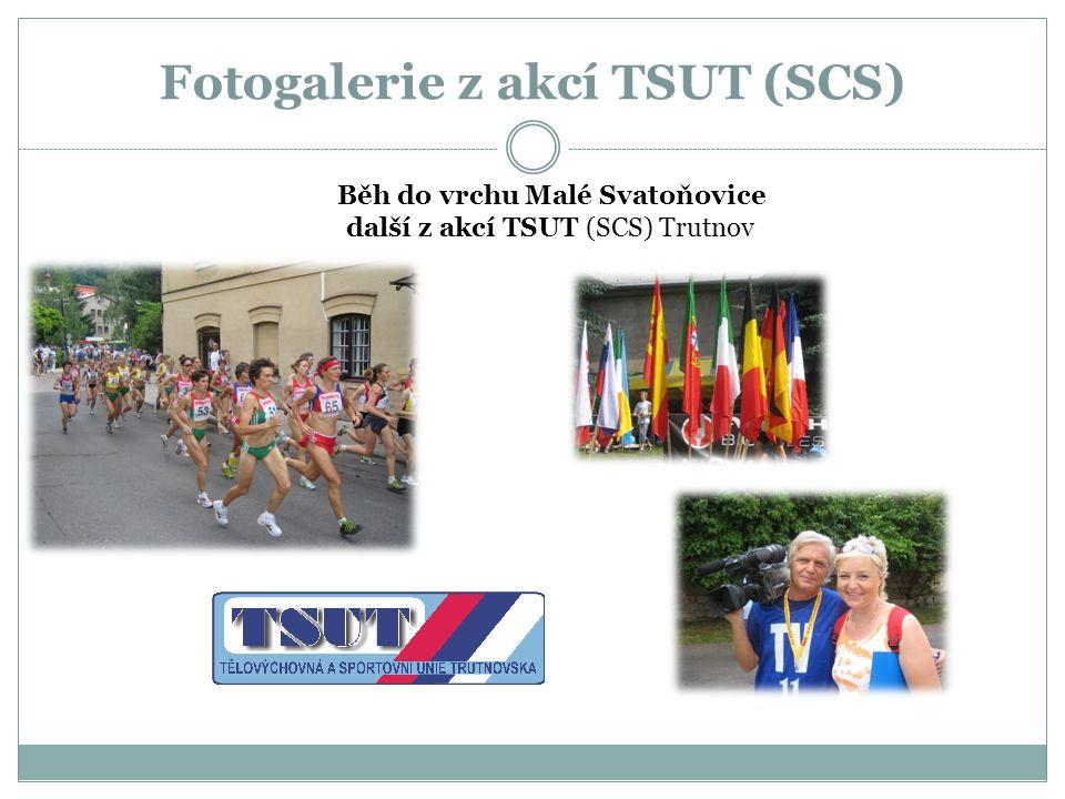 Fotogalerie z akcí TSUT (SCS) Běh do vrchu Malé Svatoňovice další z akcí TSUT (SCS) Trutnov