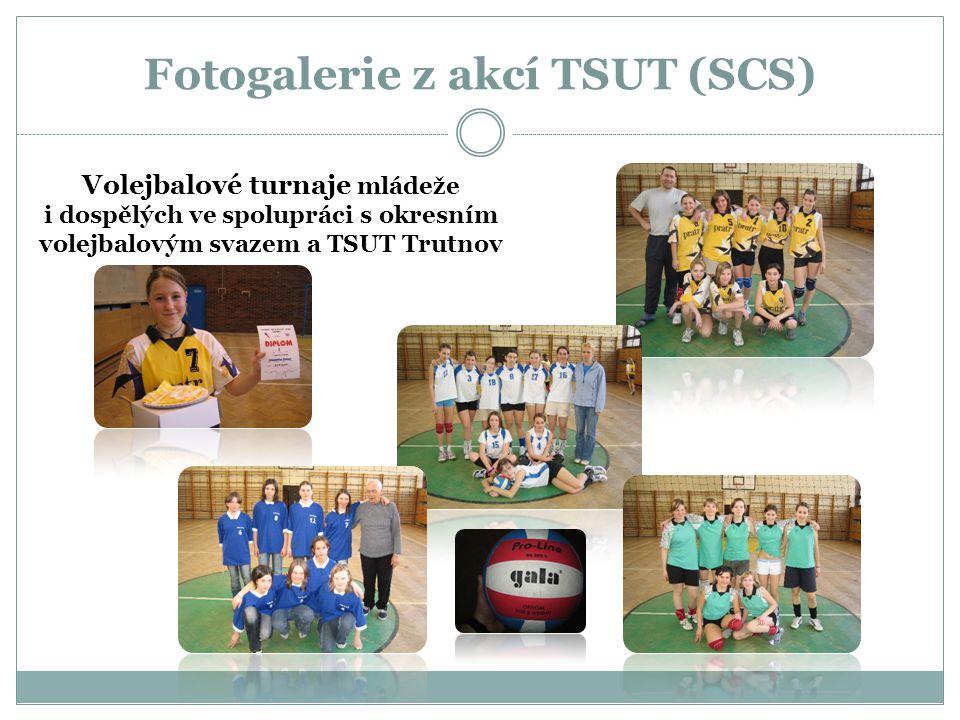 Fotogalerie z akcí TSUT (SCS) Volejbalové turnaje mládeže i dospělých ve spolupráci s okresním volejbalovým svazem a TSUT Trutnov