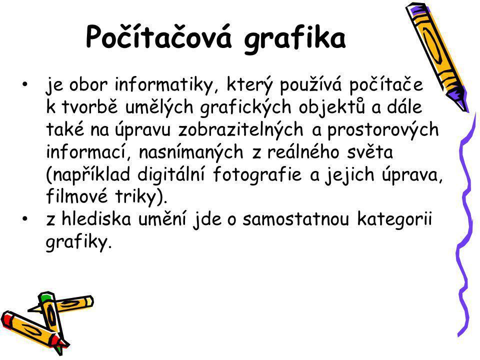 Programy pro vytváření vektorové grafiky •Zoner Callisto – český vektorový editor, je k dispozici i ve free verzi •Adobe Illustrator – komerční vektorový editor •CorelDraw - profesionální vektorový editor