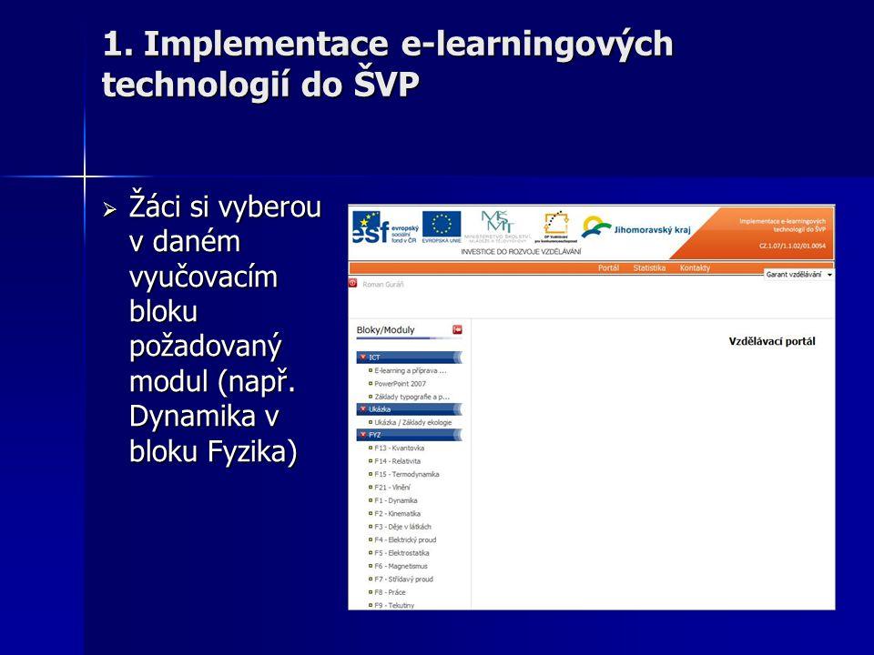  Pro vlastní výuku žáci spouštějí text (webovou aplikaci) 1.
